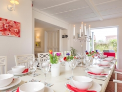 Overcliff Lodge, Mundesley, Norfolk. Dining Room.