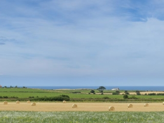 Across the Fields to Weybourne Windmill and the Coast