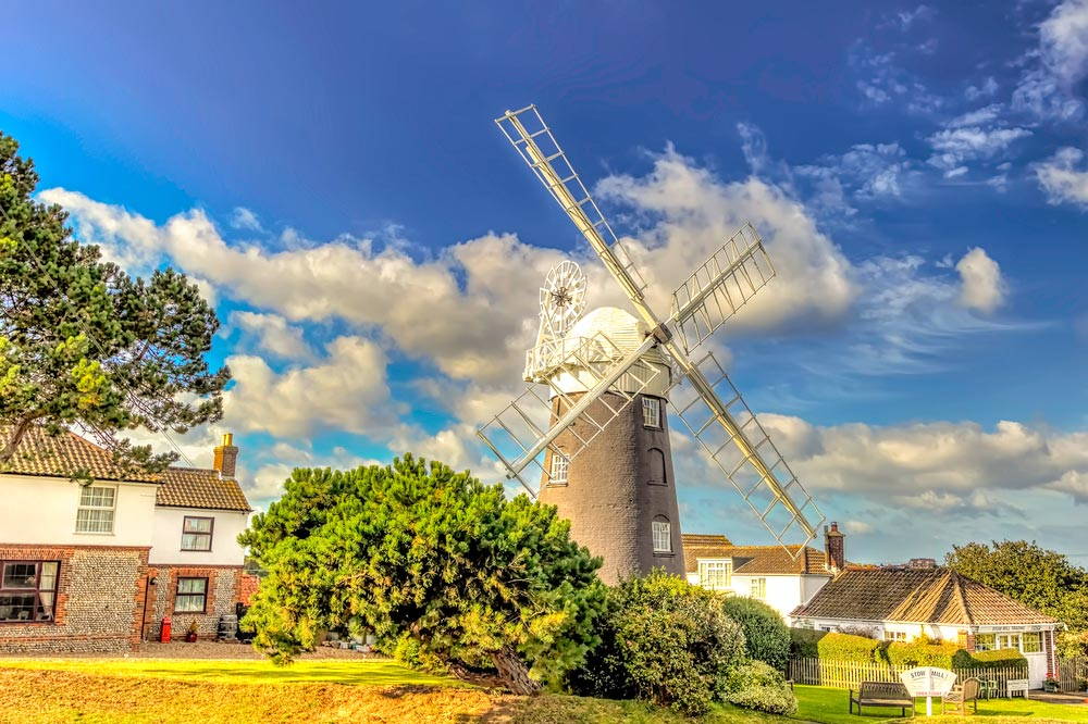 Stow Windmill Paston - near Mundesley
